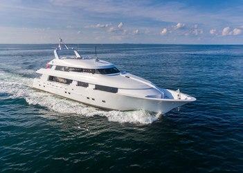 Shogun yacht charter in North America