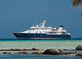 Hanse Explorer yacht charter in Antarctica