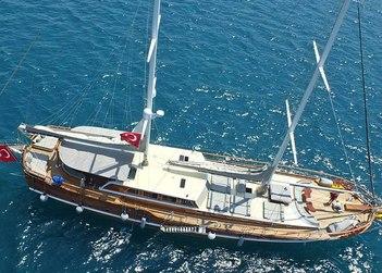 Kaptan Mehmet Bugra yacht charter in Datça