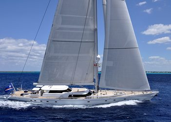 Hyperion yacht charter in Spain