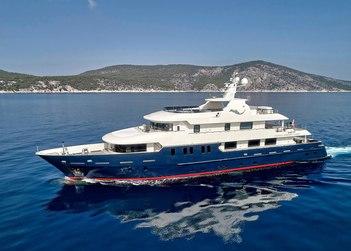 Serenity II yacht charter in Hydra