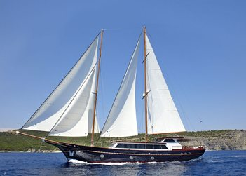 Iraklis L yacht charter in Bodrum
