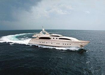 Helios yacht charter in Rhodes Island