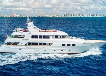 Relentless yacht charter in Alaska