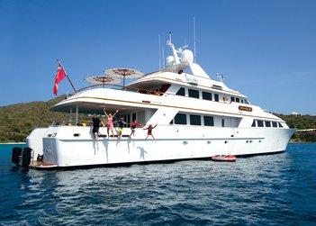 Lady J yacht charter in US Virgin Islands