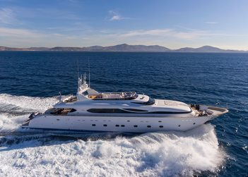 Paris A yacht charter in Dodecanese Islands