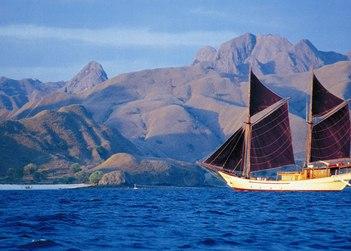 Silolona yacht charter in Raja Ampat