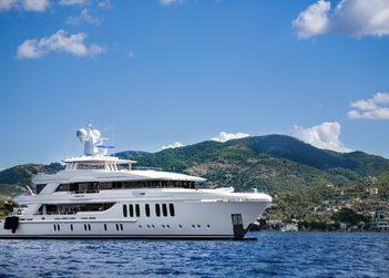Liquid Sky yacht charter in Barcelona