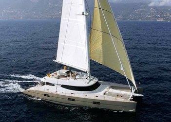 Black Swan yacht charter in Puerto Rico