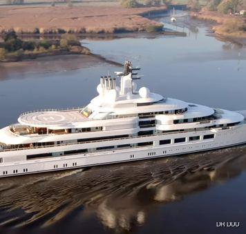 Scheherazade yacht lurssen