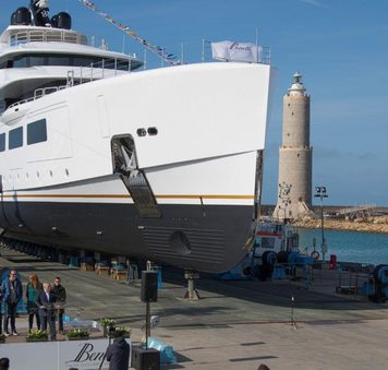 Benetti launches superyacht ALKHOR, aka FB273