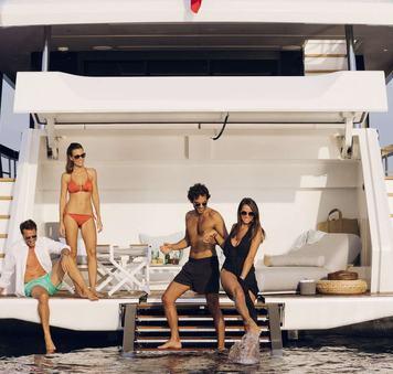 luxury yacht moanna ii