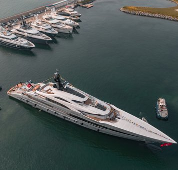 Bilgin launches largest Turkish-built superyacht: 80m TATIANA