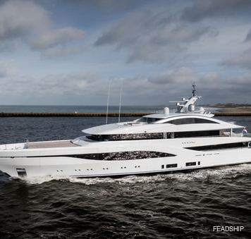 superyacht arrow by feadship