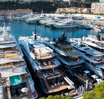 Watch: A round-up of all the action from the Monaco Yacht Show 2021