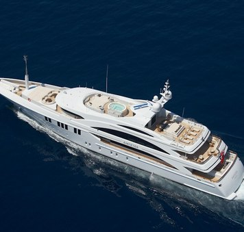 60m superyacht ANDREAS L renamed MIMI and now available to charter in the South Pacific for first time