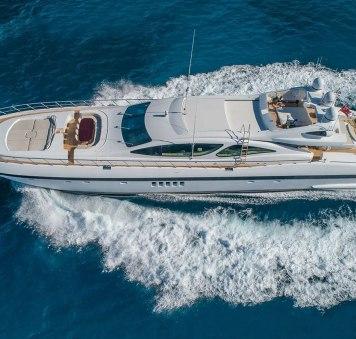 Freshly refitted 40m motor yachtJOMAR joins Caribbean charter fleet