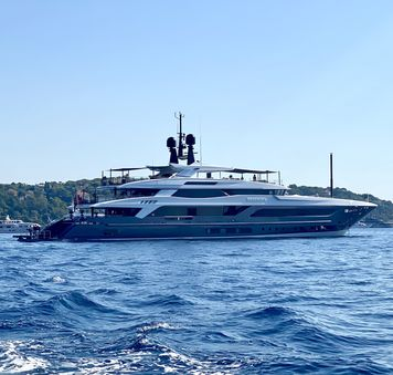 Standout yachts at anchor at the Monaco Yacht Show 2021