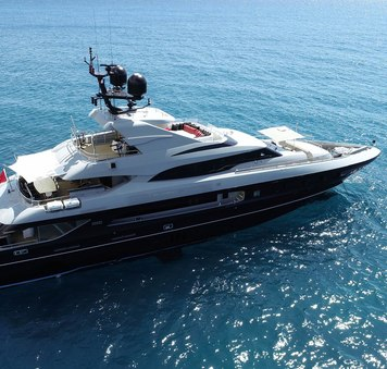 Last chance for Mediterranean yacht charter aboard THE SHADOW