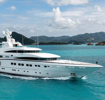 82.5m Luxury yacht SECRET: special offer for yacht charters around the Mediterranean