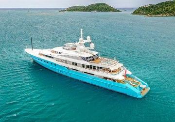 Axioma yacht charter in West Mediterranean