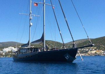 Rox Star yacht charter in Bodrum