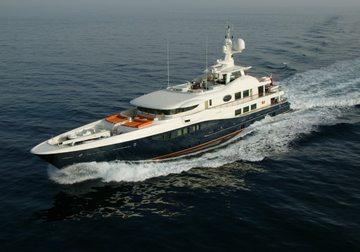 Deniki yacht charter in Barcelona