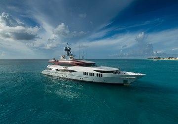 Amarula Sun yacht charter in Leeward Islands