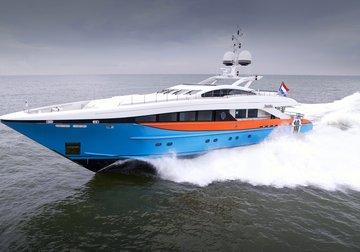 Aurelia yacht charter in Spetses