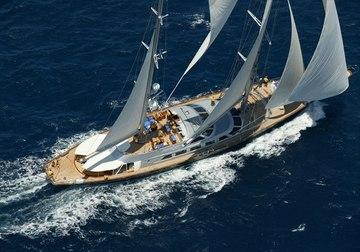 Andromeda la Dea yacht charter in Montenegro
