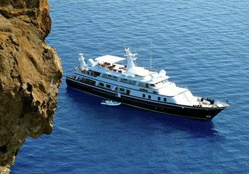 The Goose yacht charter in Belize