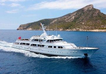 Mirage yacht charter in Cuba