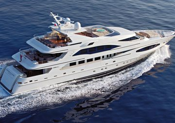 Princess Iolanthe yacht charter in South East Asia
