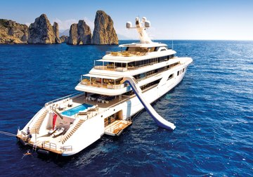 Aquarius yacht charter in France