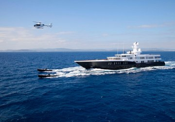 Air yacht charter in Antibes