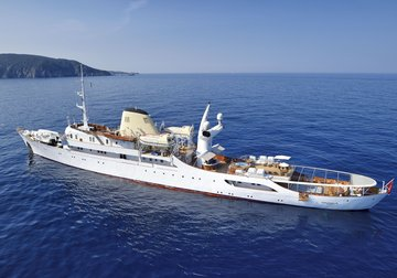 Christina O yacht charter in Italy