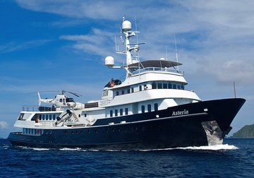 Asteria yacht charter in Australia