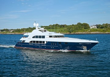 Alessandra yacht charter in Alaska