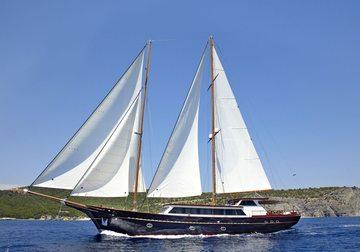 Iraklis L yacht charter in Bodrum