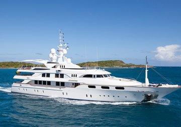 Starfire yacht charter in Corsica