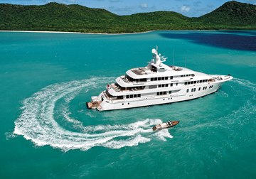 Invictus yacht charter in Barbados