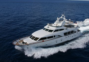 Anypa yacht charter in The Balearics