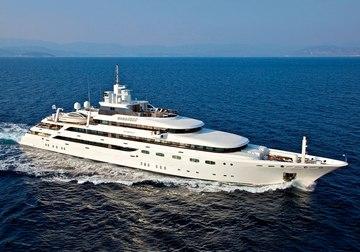 O'Mega yacht charter in East Mediterranean