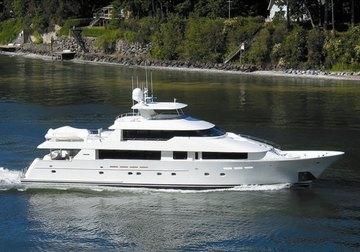 Sea Bear yacht charter in Singapore