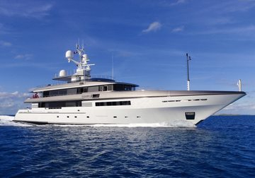 Atlas yacht charter in Raja Ampat