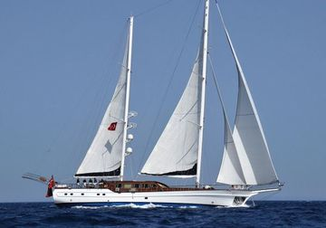 Voyage yacht charter in Turkey