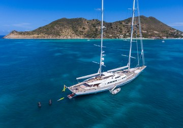 Spirit of the C's yacht charter in Seychelles