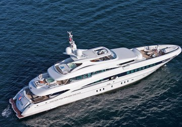Inception yacht charter in Corsica