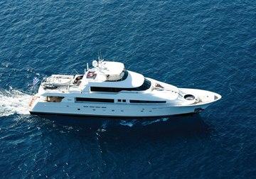 Endless Summer yacht charter in Milos
