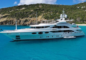Latitude yacht charter in Genoa